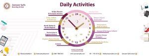 Zamzam Syifa Boarding School Daily activities