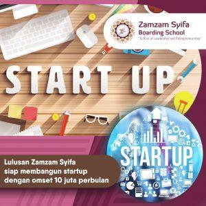 Zamzam Syifa Siap Mengebangkan Potensi Bisnis Startup Anak